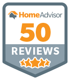 50 Reviews on Home Advisor