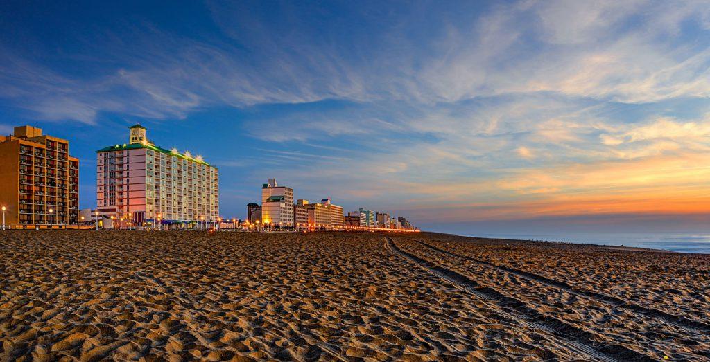 Virginia Beach area sunset picture